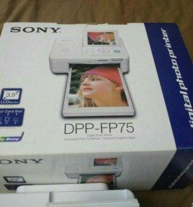 Фотопринтер Sony DPP-FP75