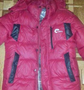 Куртка мужская(пуховик)(обмен)