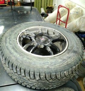 Комплект колес шипованных зимних  5*114,3
