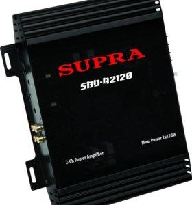 Автомобильный усилитель Supra SBD-A2120 Black