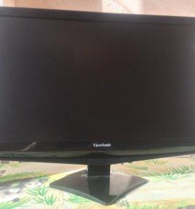 Монитор 22 дюйма ViewSonik VA2248-LED + ИБП IPPON
