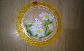 Тарелка Ромашки