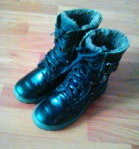 Ботинки на мальчика .зима.32 р.