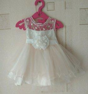 Платье детское нарядное пышное для девочки