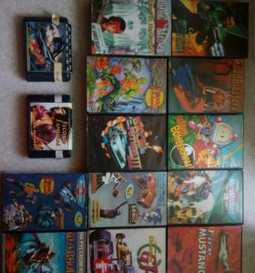 Картриджи для Sega.возможна доставка в Асбест.