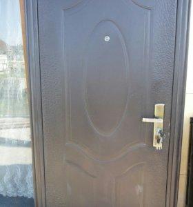 Двери входные металлические. Разные размеры