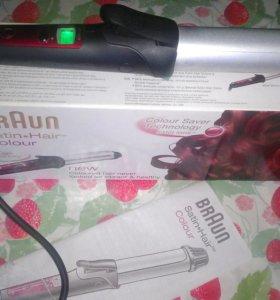Щипцы-стайлер Braun EC2 Satin Hair Colour