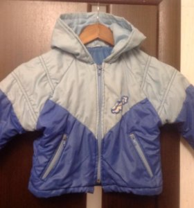 Куртка р.80-86 д/мальчика демисезонная