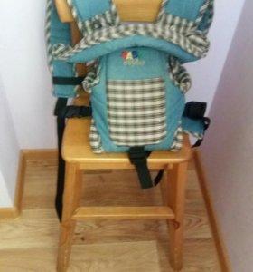 Рюкзак кенгуру Baby style Томик джинс