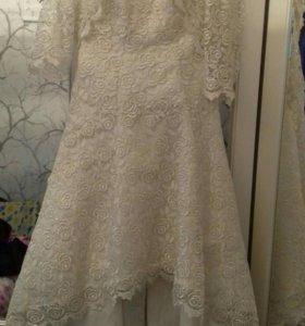 Свадебное, вечернее платье.