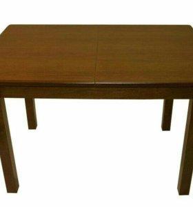Новый раскладной обеденный стол из массива дерева
