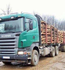 Перевозка леса.