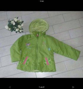 Курточка на 5/6 лет зима