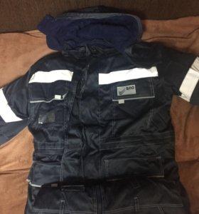 Зимняя спец одежда новая ватники и куртка