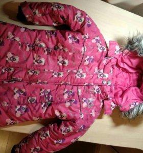 Зимняя куртка reike на рост 104 см