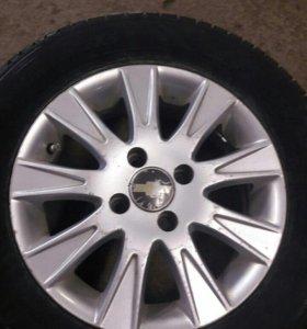 Комплект литых дисков Chevrolet