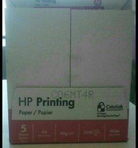 1 коробка бумаги для оргтехники