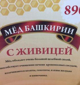 Мёд Башкирии, с живицей