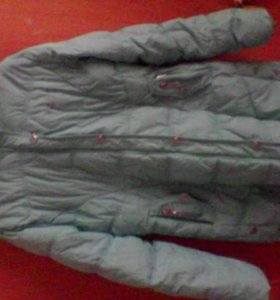 пуховик осень-зима