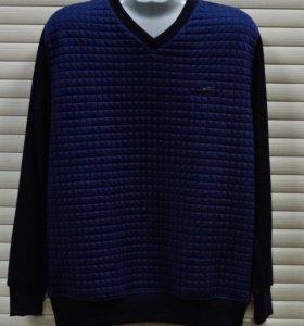свитер трикотаж длинный рукав