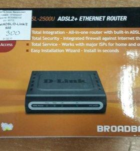 Модем ADSL/D-link/2500U