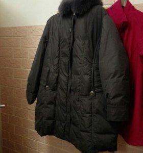 Пуховик. Куртка. 58-64 р. Новый