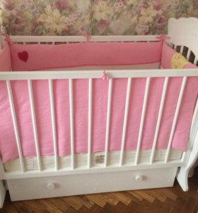 Детская кровать + матрас