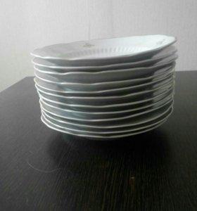 Тарелки под второе блюдо ТОРГ уместен