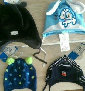 Шапки новые, шапка-шлем40-42-44