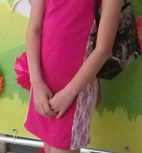 Платье на девочку 8-10 лет