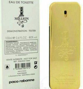 Тестер Paco Rabanne 1 Million