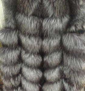 Новые жилеты из чернобурки, 🦊 лисы