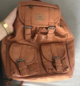 Рюкзак / рюкзачок кожаный