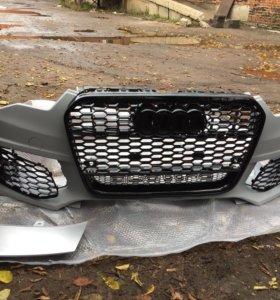 Бампер Audi A6C7 RS6