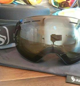 Горнолыжная маска очки N13 новые