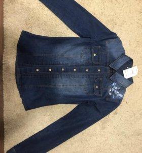 Блузка джинсовая новая