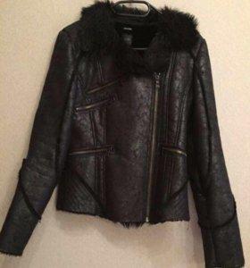 Куртка искуственный мех косуха дубленка или обмен