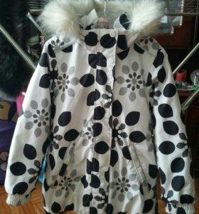 Зимняя куртка для девочки reima tec