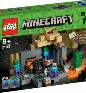 LEGO minecraft.