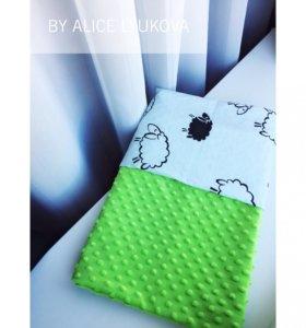 Детский плед одеяло