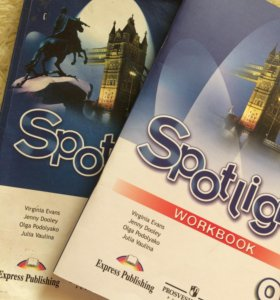 Spotlight. Students book and Workbook