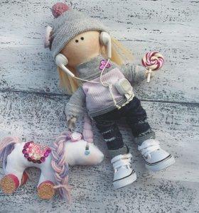 Интерьерные куклы,кукла ручной работы