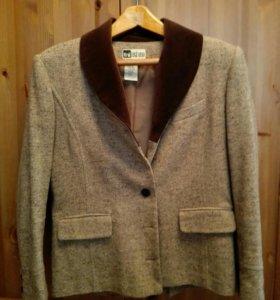 Женский шерстяной пиджак