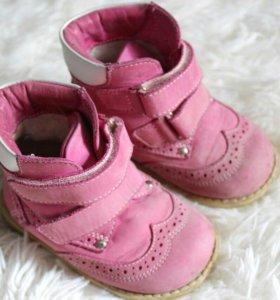 Ботинки б/у кожа