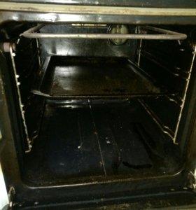 Электрическая плита на 3 конфорки духовка рабочая