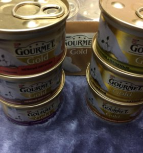 Gourmet Gold корм для кошек, баночка