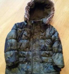 Куртка демисезонная на мальчика. Рост 116