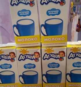 Молоко Агуша 1л 2,5