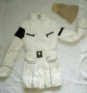 Куртка+шапка зима