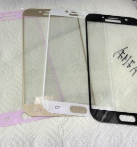 Защитное  стекло для Samsung A7(2017)